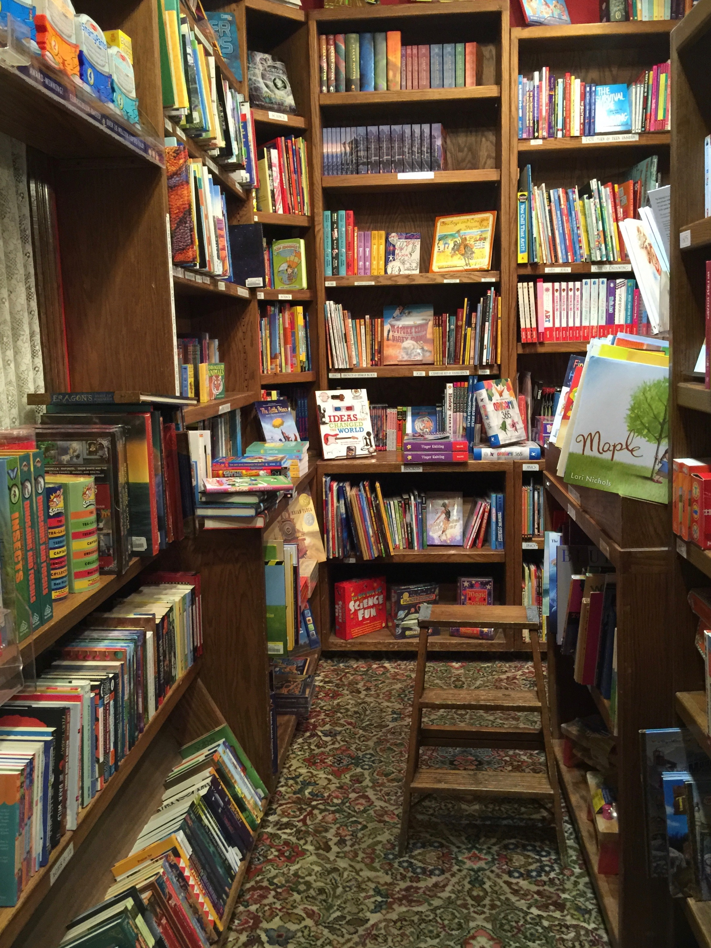 Explore Booksellers Children's Section