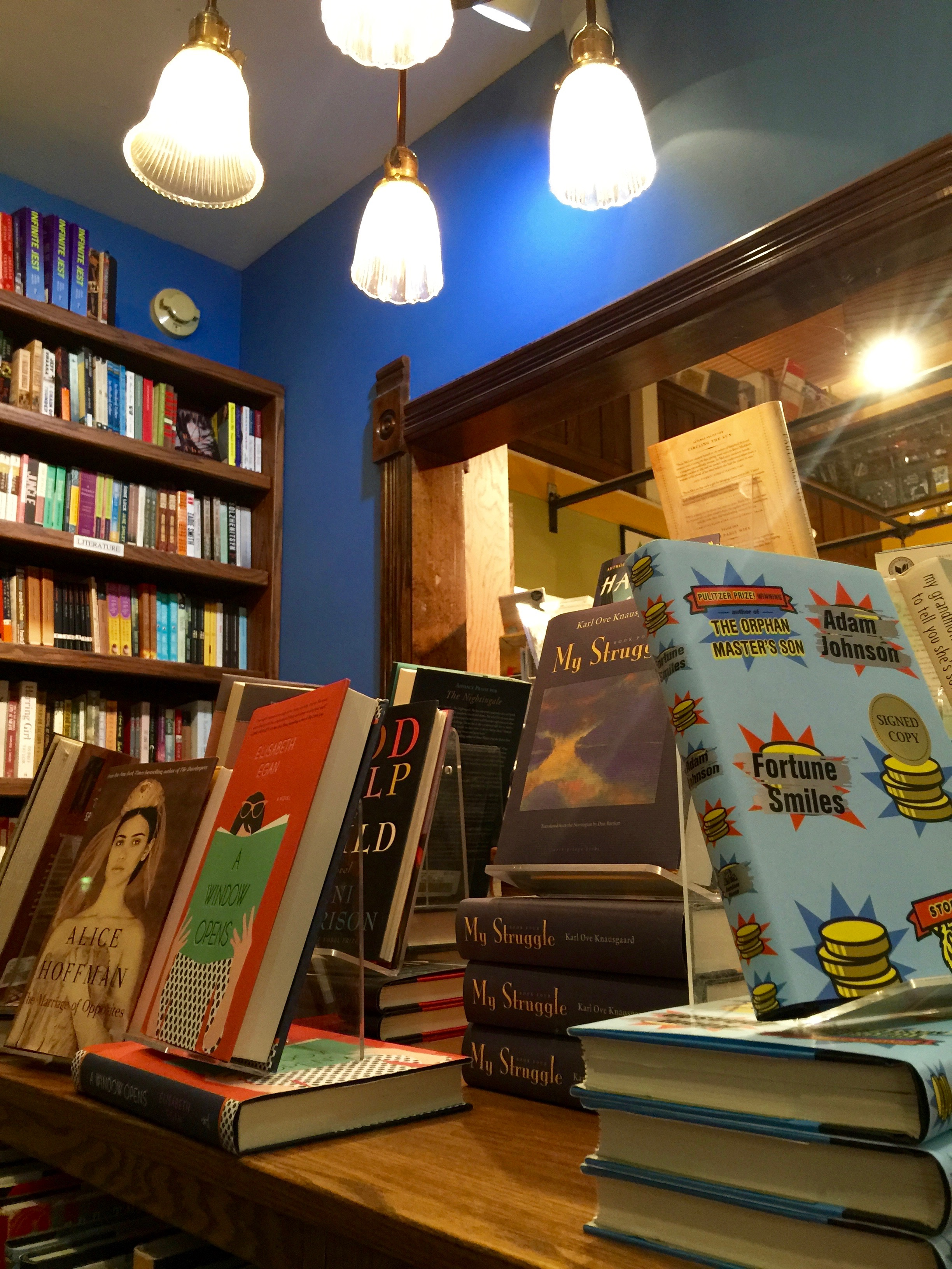 Explore Booksellers Lights