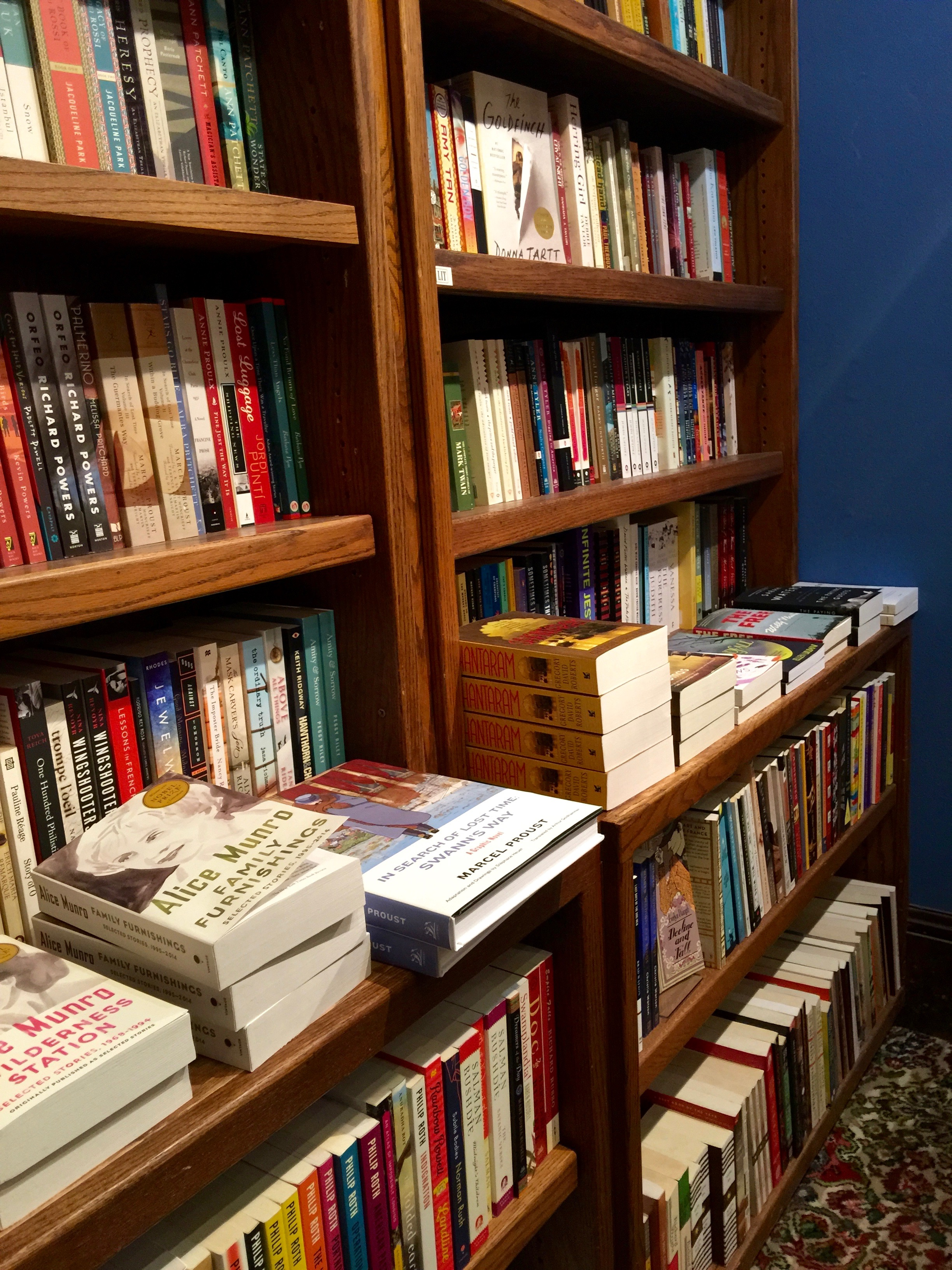 Explore Booksellers Shelves