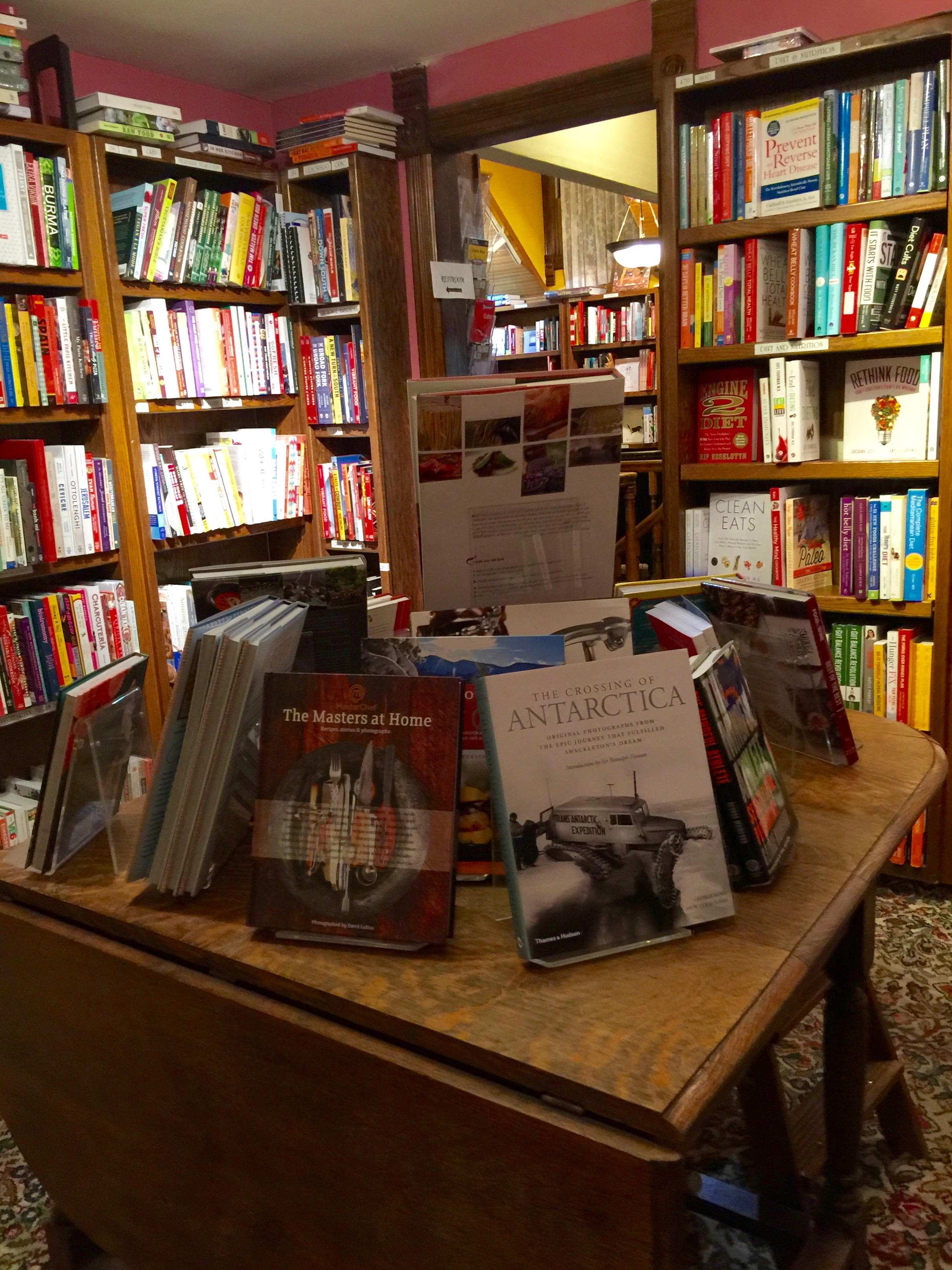 Explore Booksellers Room