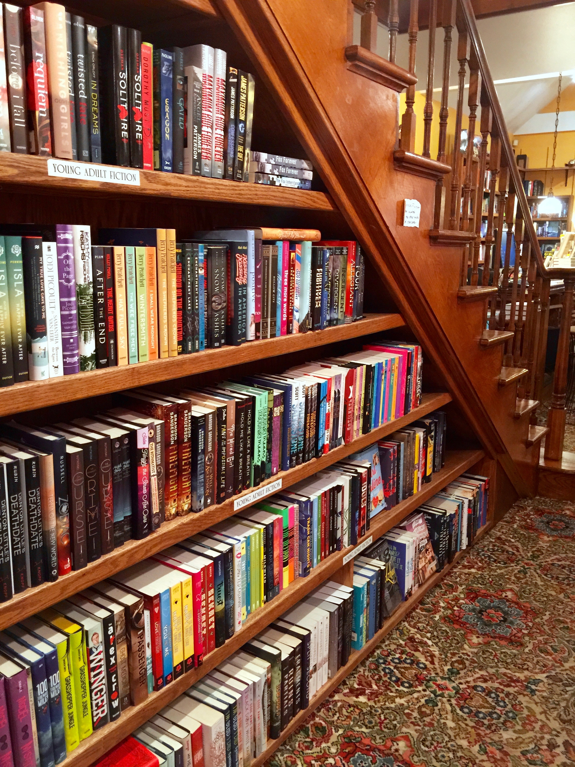 Explore Booksellers Books Under Stairs