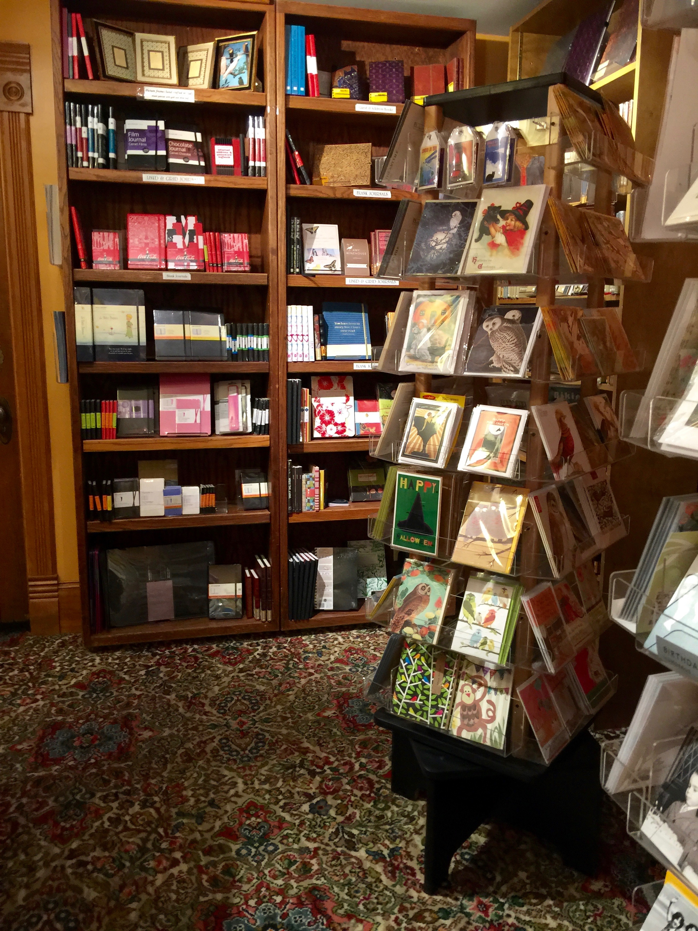Explore Booksellers Cards and Journals