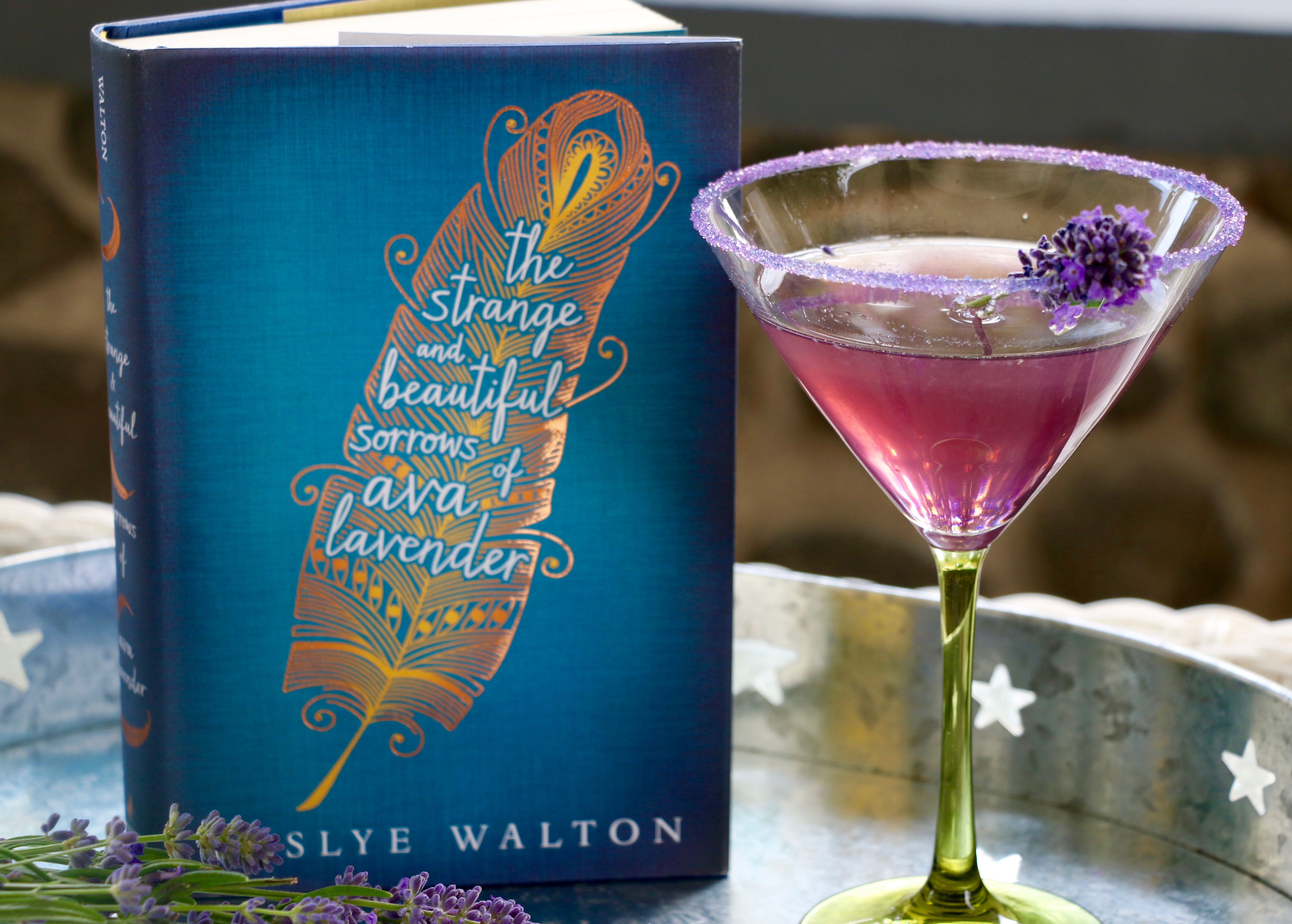 The Strange and Beautiful Sorrows of Ava Lavender and Lavender Martini