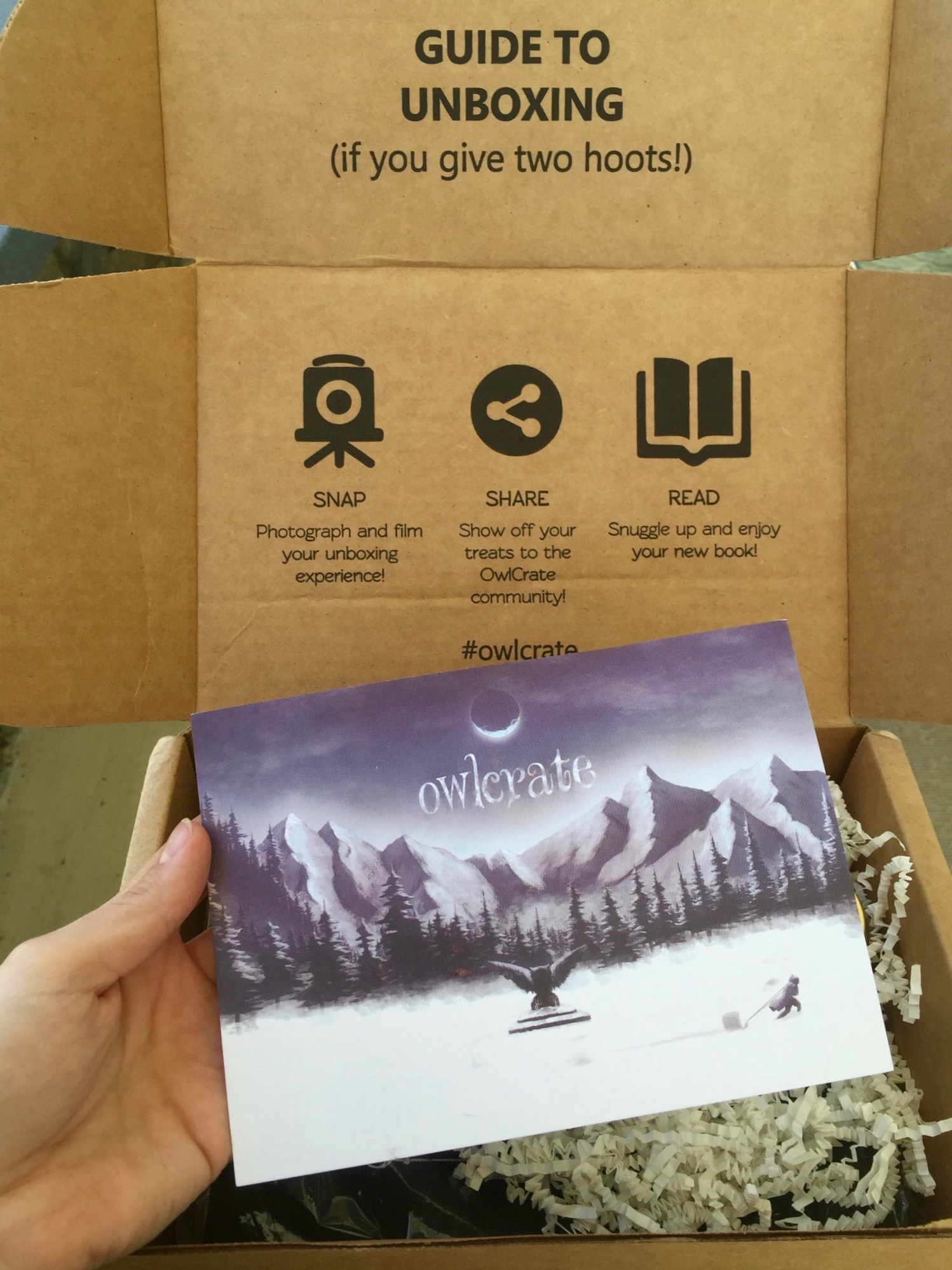 September Owlcrate Unboxing
