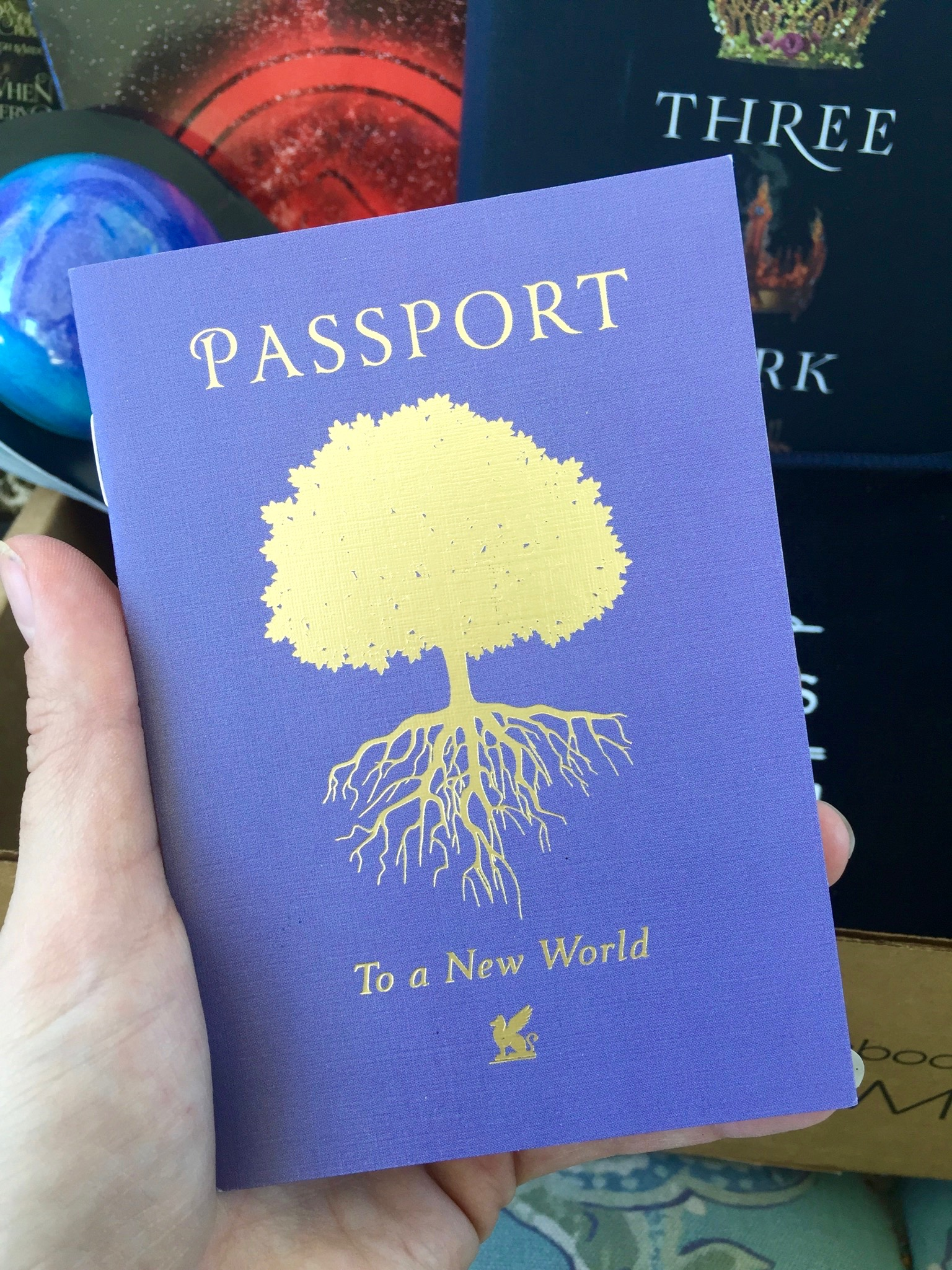 Passport to a New World - September Owlcrate