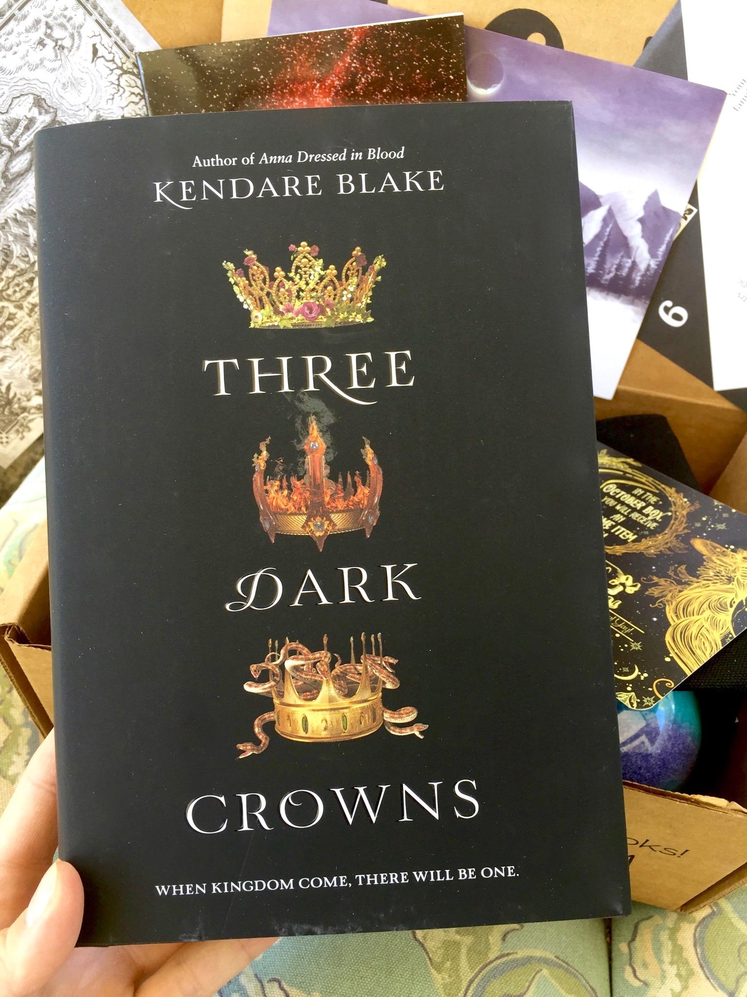 Three Dark Crowns by Kendare Blake : September Owlcrate