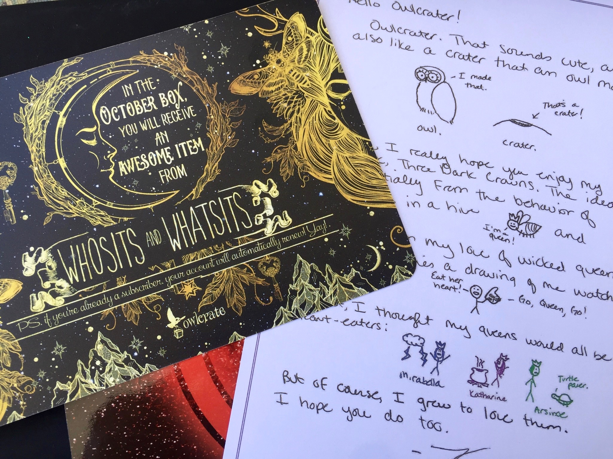 Illustrations - September Owlcrate