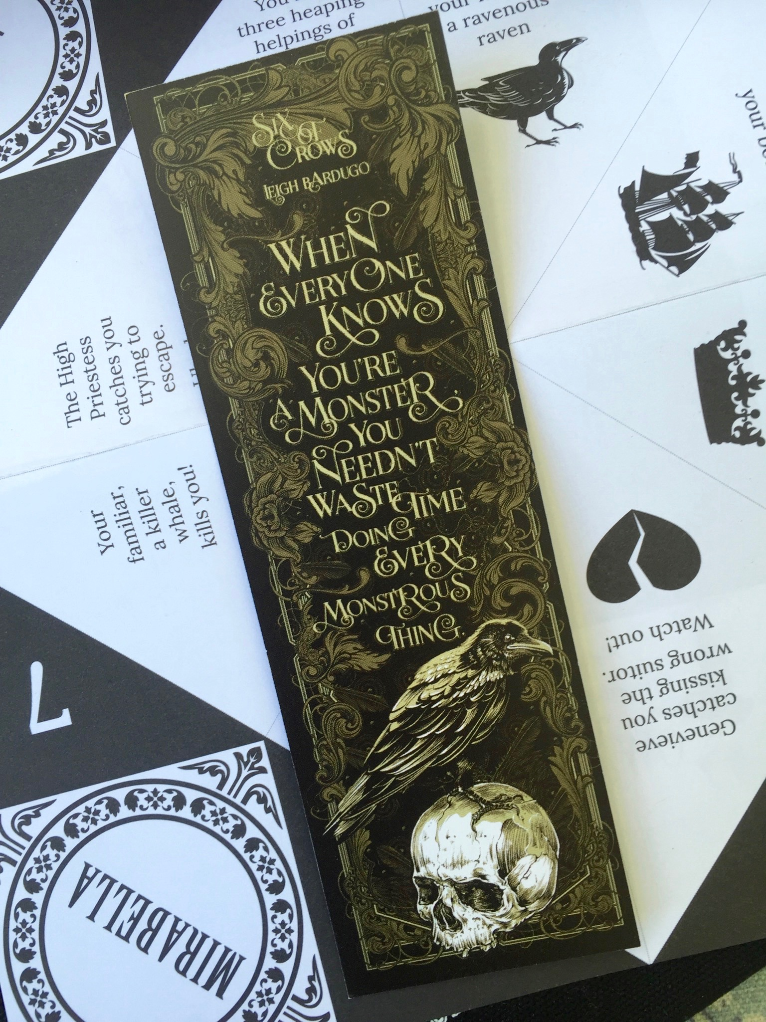 Bookmark - September Owl Crate